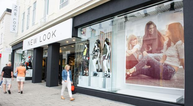 Reduced footfall was cited as one reason for the fall in profits in New Look