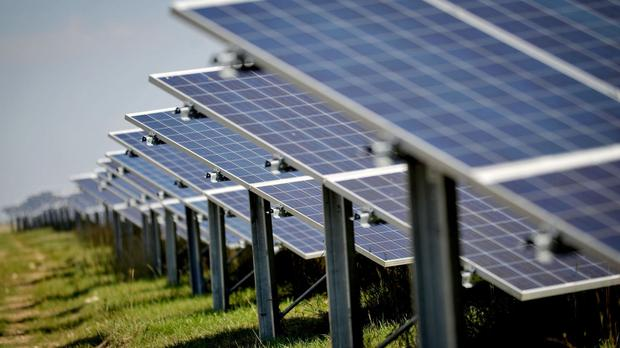 'Solar company Lightsource Renewable Energy said the project would provide over 32 MW of clean energy into the grid - enough to power more than 11,000 homes' (stock photo)