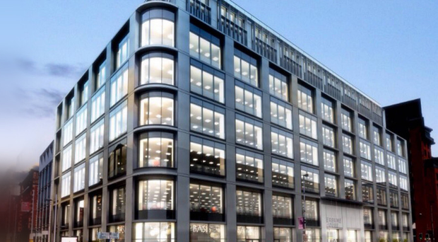 What the new office building at Chichester Street could look like once completed