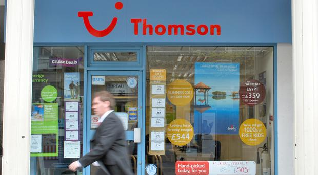 Thomson owner Tui reported in September that British holidaymakers had shrugged off worries over the Brexit vote and plunging pound