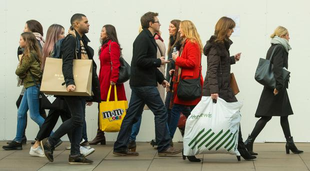 Figures show consumers are being more cautious with their cash