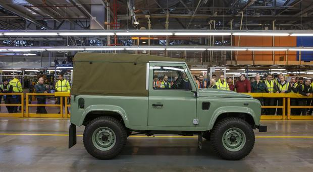 The vehicle will draw inspiration from the Land Rover Defender
