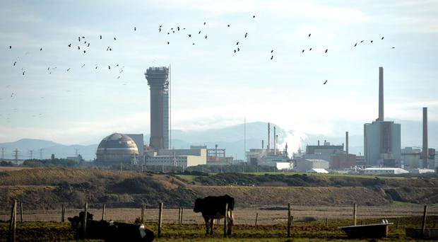 The Sellafield nuclear plant in Seascale, Cumbria, near to where a planned £10 billion power plant is to be built at Moorside