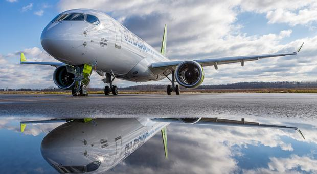 AirBaltic was the first to fly the CS300, now said to be attracting the attention of IAG