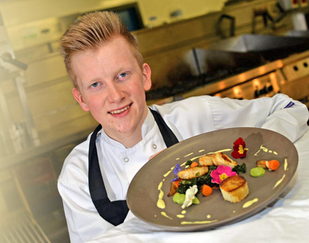 Chef Max Buller from Loughbrickland