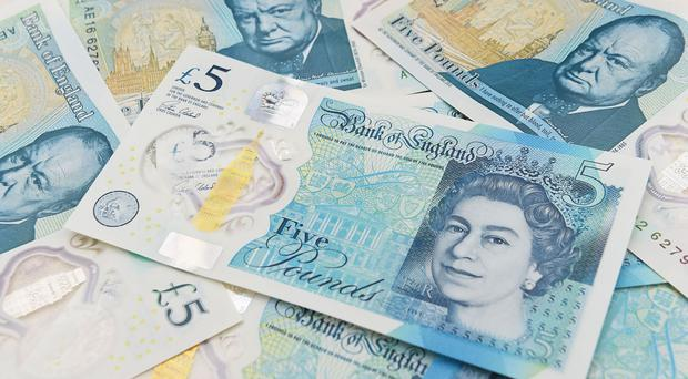 The bank said an 'extremely small amount' of tallow was used to produce polymer pellets, which were then used to create the material for the £5 note