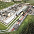 Artist's impression of how the Moorside nuclear plant in Cumbria may look (NuGeneration/PA)