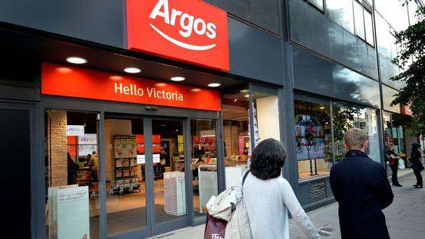 Argos was taken over by Sainsbury's six months ago