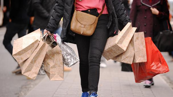 The Office for National Statistics said month-on-month retail sales fell by 0.3% in January
