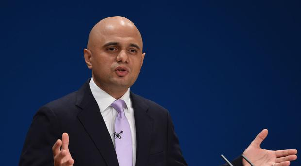 Communities Secretary Sajid Javid has been accused of misleading colleagues over a business rate revaluation