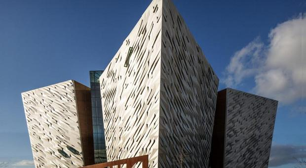 The Titanic Centre in Belfast