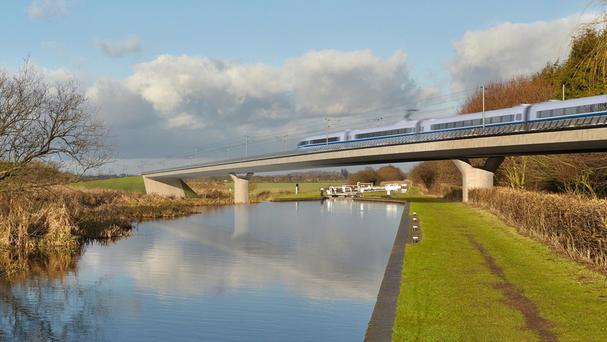 The first phase of the HS2 high-speed rail project is expected to pass its final hurdle on Thursday.