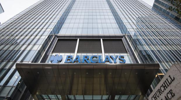 Banking giant Barclays has said it is