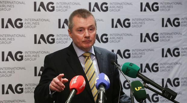 International Airlines Group (IAG) chief executive Willie Walsh said the company had made good progress