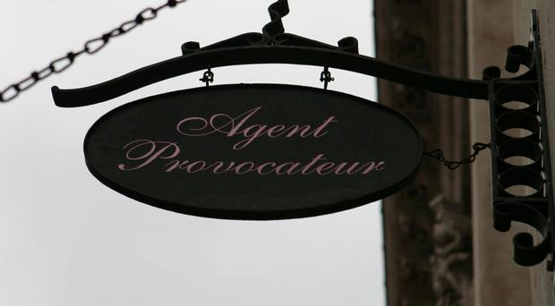 Mike Ashley is poised to slip into the lingerie market by acquiring struggling retailer Agent Provocateur out of administration.