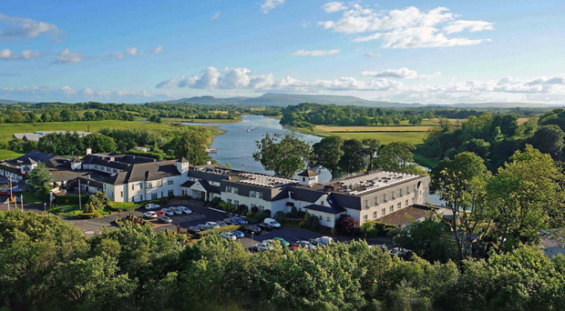 The Killyhevlin Hotel in Enniskillen, Co Fermanagh