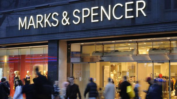 Marks & Spencer revealed a return to sales growth in its clothing arm for the first time in nearly two years