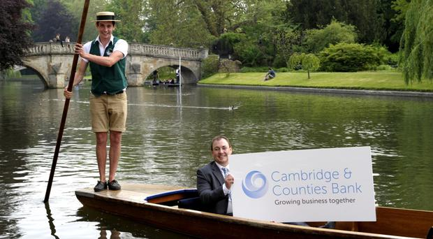 Cambridge & Counties Bank said a record surge in customer deposits helped profits soar