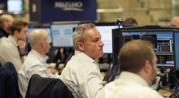 The Standard & Poor's 500 index fell 7.81 points, or 0.3%, to 2,375.31 (Mark Lennihan/AP)