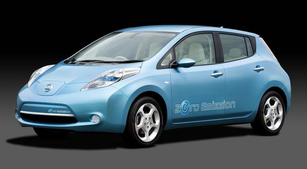 Nissan has run three prototypes of driverless Nissan Leaf cars in east London