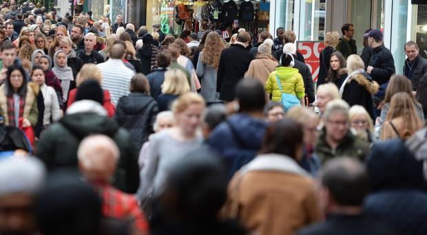 Retailers suffered a 12.5 per cent drop in footfall between January and February, new figures have shown
