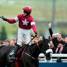 Bryan Copper rode Don Cossack to victory at last year's Cheltenham. This year's festival starts next Tuesday