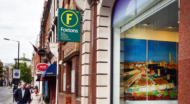 Foxtons revealed a drop in profits