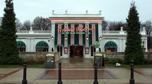 Frankie & Benny's owner the Restaurant Group is to close another eight under-performing outlets (College Hill Associates/PA)
