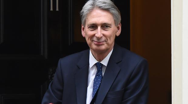Chancellor Philip Hammond said the Government should focus 'relentlessly' on keeping Britain at the cutting edge of the global economy