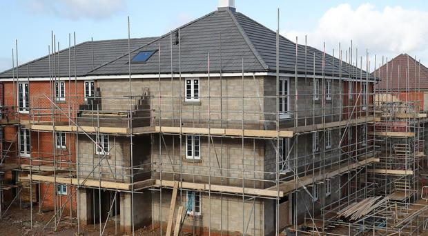 January's figures showed a drop in construction