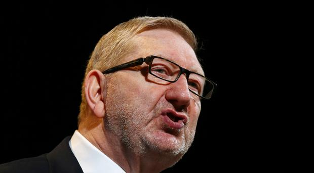 Unite leader Len McCluskey called for an end to 'insecure working'