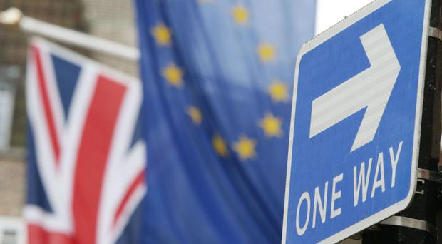 Firms are displaying more caution with the possible impact of Brexit in mind, the report said
