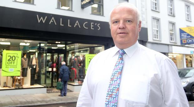 Thomas Wallace, director of Wallace's department store in Ballymena
