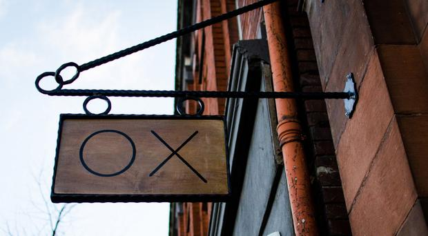 OX restaurant has gained a reputation for adventurous, fine dining