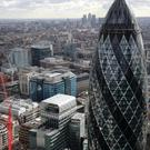 Estate agent Savills saw a 21% reduction in the take-up of leases on City offices