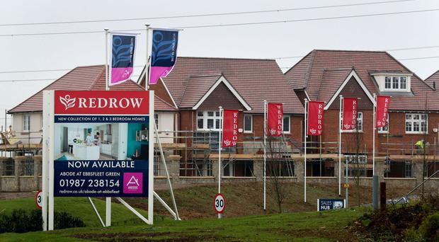 Redrow revealed a record order book