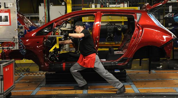 February saw a car come off the production line every 16 seconds