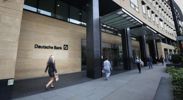 Deutsche Bank has entered exclusive negotiations with Land Securities on a new building currently being constructed in the City at 21 Moorfields