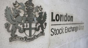 The FTSE 100 Index was down 76.23 points to 7,260.7