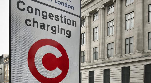 The average waiting time to pay the congestion charge by phone was 15 minutes and the longest was 86 minutes