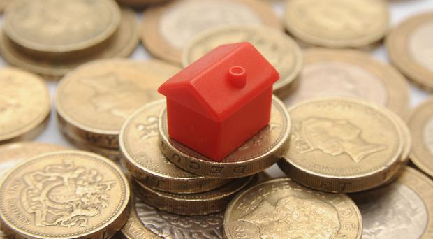 Some 125,622 mortgages got the go-ahead in February, down from 128,617 in January