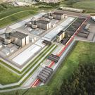 Artist's impression of how the Moorside nuclear plant in Cumbria may look