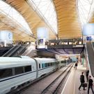 Undated artist impression issued by HS2 of the proposed HS2 station at Euston