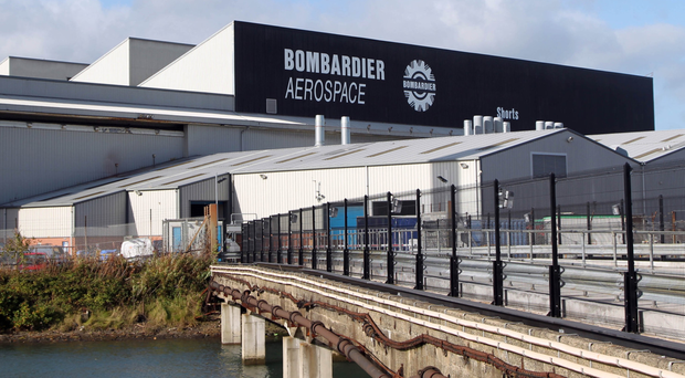 Bombardier at the Belfast Harbour Estate