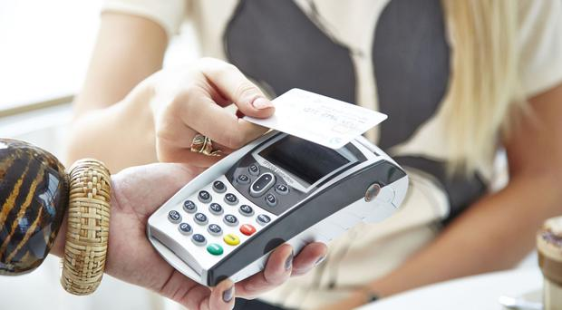 Almost all contactless Visa card payments are set to go fully online, reducing the chance of fraud (Barclaycard/PA)