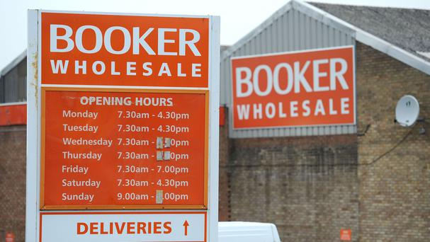 Booker sees 7% rise for full-year same-store sales