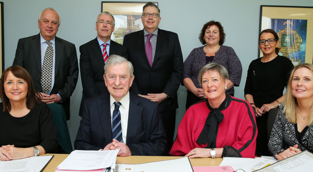 The judges for the 2017 Belfast Telegraph Business Awards