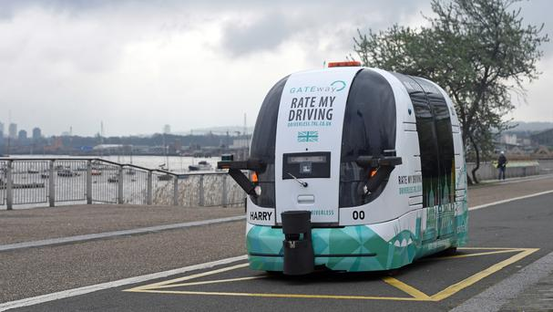 First Driverless Shuttle Bus Has Hit Roads Of London