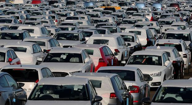Figure show 562,337 new cars were registered in the UK last month