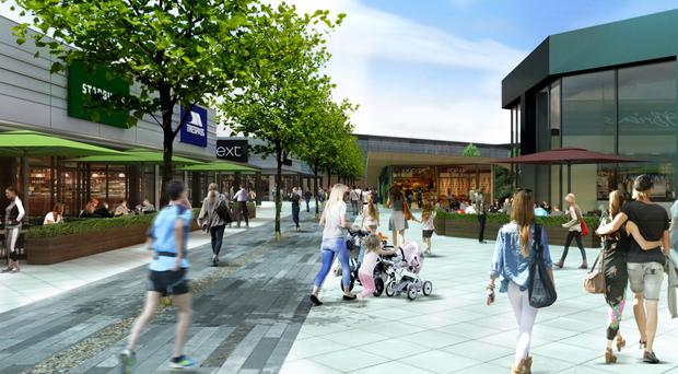Artist's impression of how Junction One, which is being renamed, will look